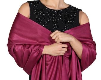 Burgundy Shawl, Berry Pashmina, Maroon Bridal Wrap, Magenta Shawl, Maroon Scarf, Berry Shawl, Winter Scarf, Fashion Shawl Wrap, Scarves