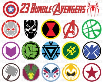 Avengers symbol | Etsy