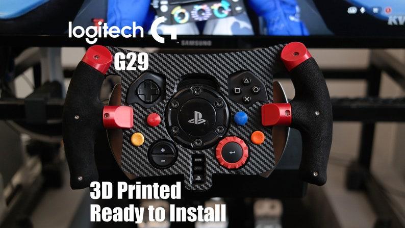 F1 Steering Wheel Logitech G29 Printed