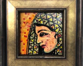 Mesopotamian face