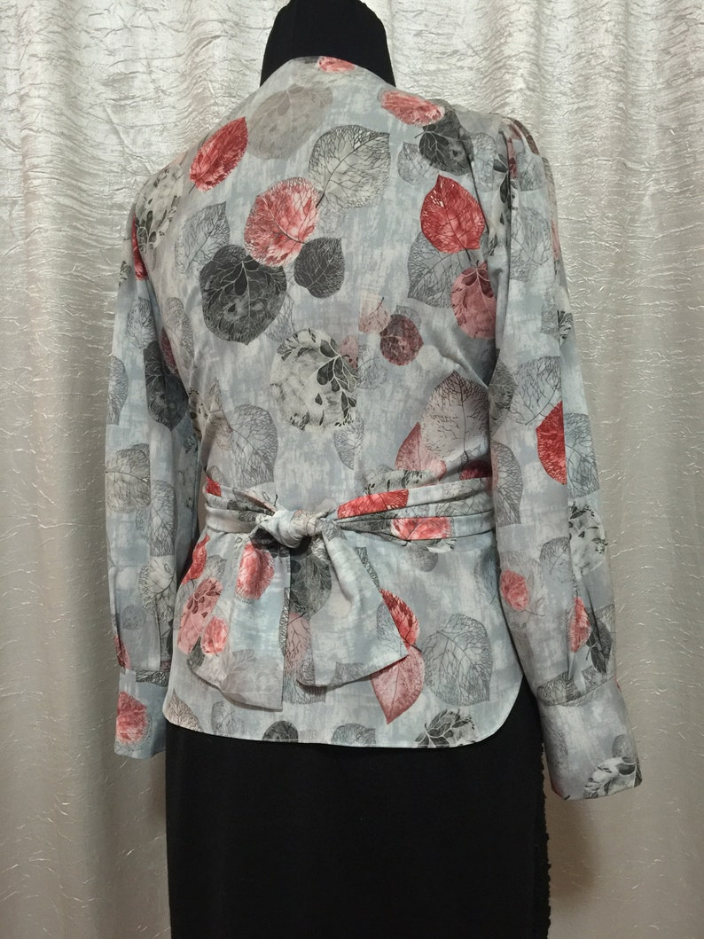 blouse women long sleeve blouse. spring summer floral print Women/'s tops chiffon women/'s blouse with wallet