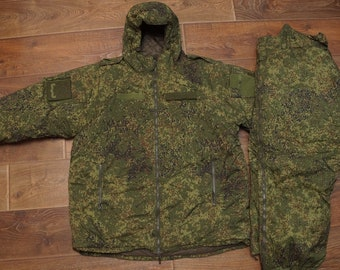 28f1155f59a M L 50 5 NEW Russian Army VKBO Ratnik 8 Level Winter suit Emr digital flora  BTK