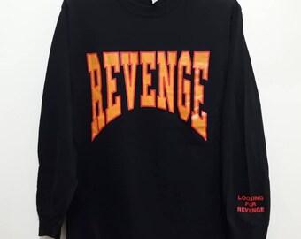 54b26668230 DRAKE - Revenge Summer Sixteen Long Sleeve T Shirt Promo Concert Tour  Rapper Hip Hop Future Merchandise Tops Hypebeast Tee Sz S