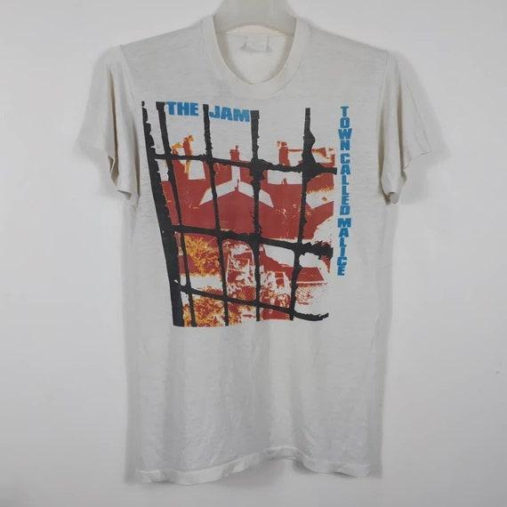 Vtg 1982 THE JAM T-Shirt Promo Town Called Malice