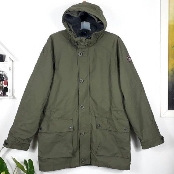 BEN SHERMAN Parka Coat Jacket Quilted Hoodie Winte