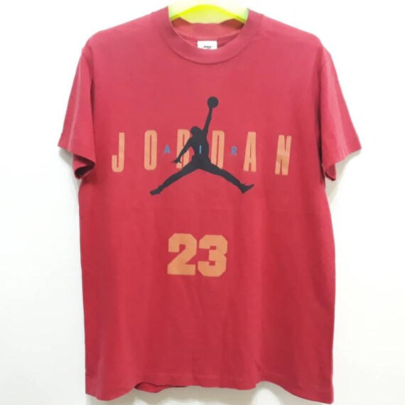 top brands large discount biggest discount Sale 20% off Vintage 90s NIKE AIR JORDAN 23 T-Shirt Big Logo Spellout  Basketball Athlete Sports Usa Classics Tops Tee Authentic Sz m