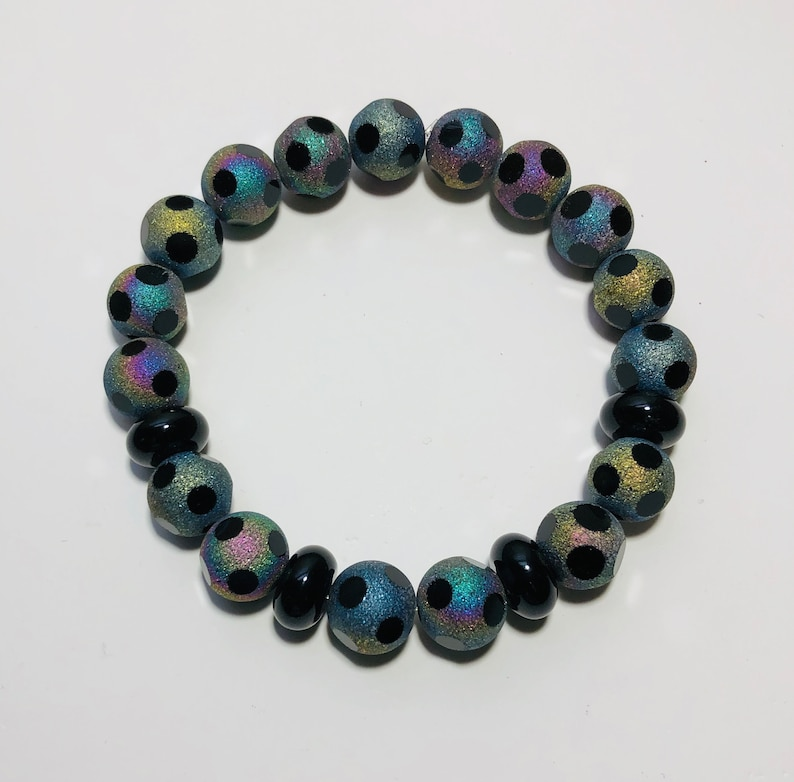 Iridescent Stretch Bracelet