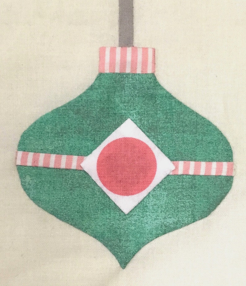Vintage Christmas Ornament PDF Pattern #12