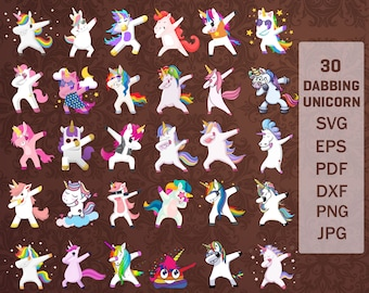 Unicorn silhouette svg | Etsy