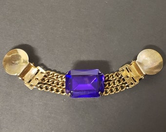 Sweater Clip from Upcycled Jewelry