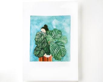 ART PRINT - POSTER - Lady Calatea -