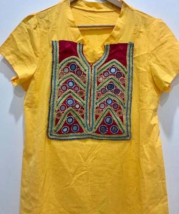 Customised Dress Kuchi Banjara Ethnic Embroidery M