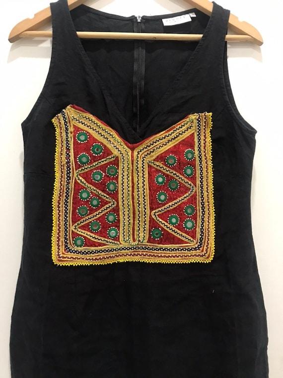 Custnised dress Kuchi Banjara Ethnic Embroidery Mi