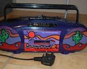 Vintage rare boombox srx 65 1980s