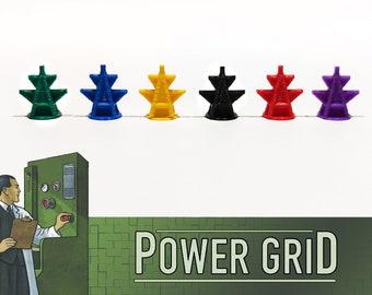 High Voltage: Set 132x Signals Power Plants - Power Grid