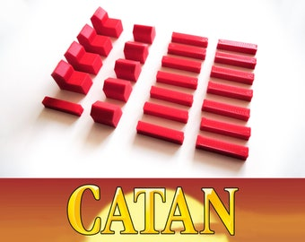The Settlers of Catan: 24x classic token sets, 38 different colors