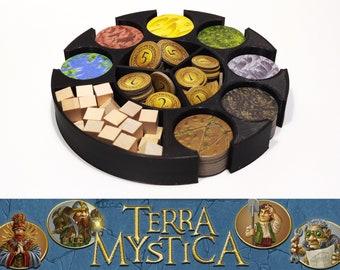 Terra Mystica: resource dispenser, bring resources