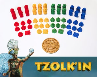 Tzolk'in: Player 57x Update Set (Compatible with Tribes and Prophecies)