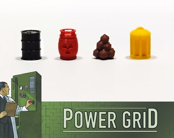 High Voltage: Set 83x Resource Counters - Power Grid