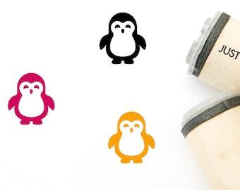 Penguin rubber stamp WM  P37