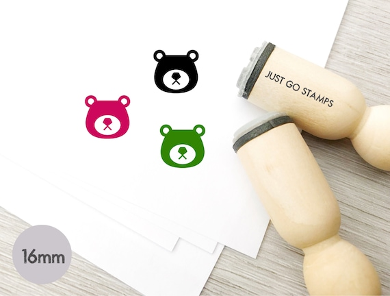 Planner Stamp 20mm Mini Stamps TV Rubber Stamp S615 16mm Television Stamp Cute TV Stamp