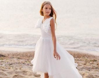 2050   Chiffon Flower Girl Dress   Special Occasion Girls Dress