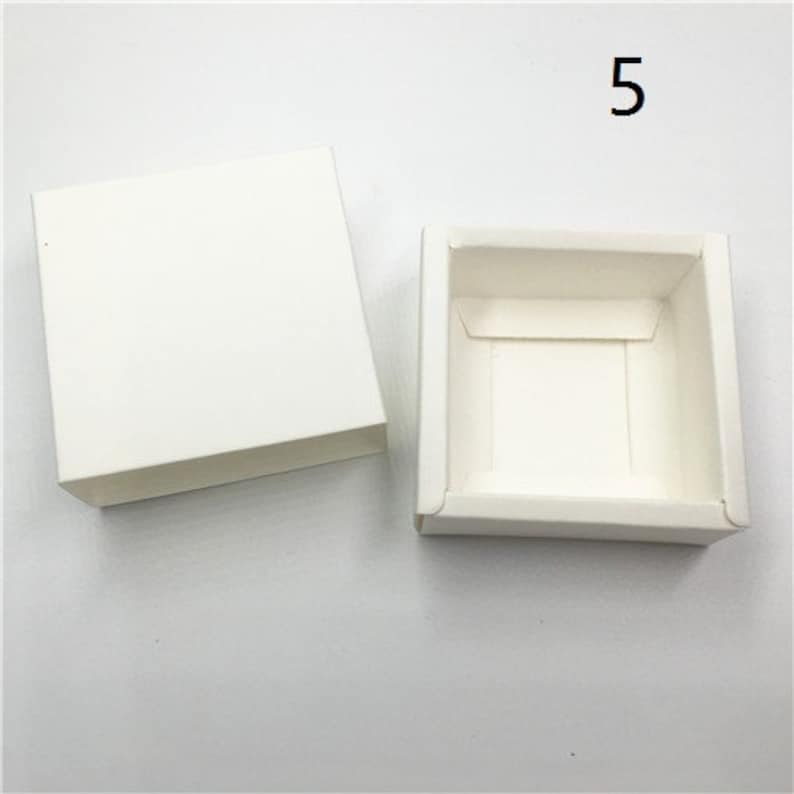 50pcs Colorful Cover Kraft Paper Drawer Gift Boxes Wedding Party Candy Box for Handmade Soap Craft Packaging Boxes