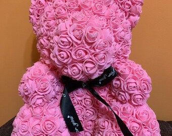 Festive & Party Supplies Hearty Rose Bear Toys Women Girls Flower Birthday Party Valentine Wedding Romantic Doll Gifts Valentines Day Wedding Decoration Less Expensive