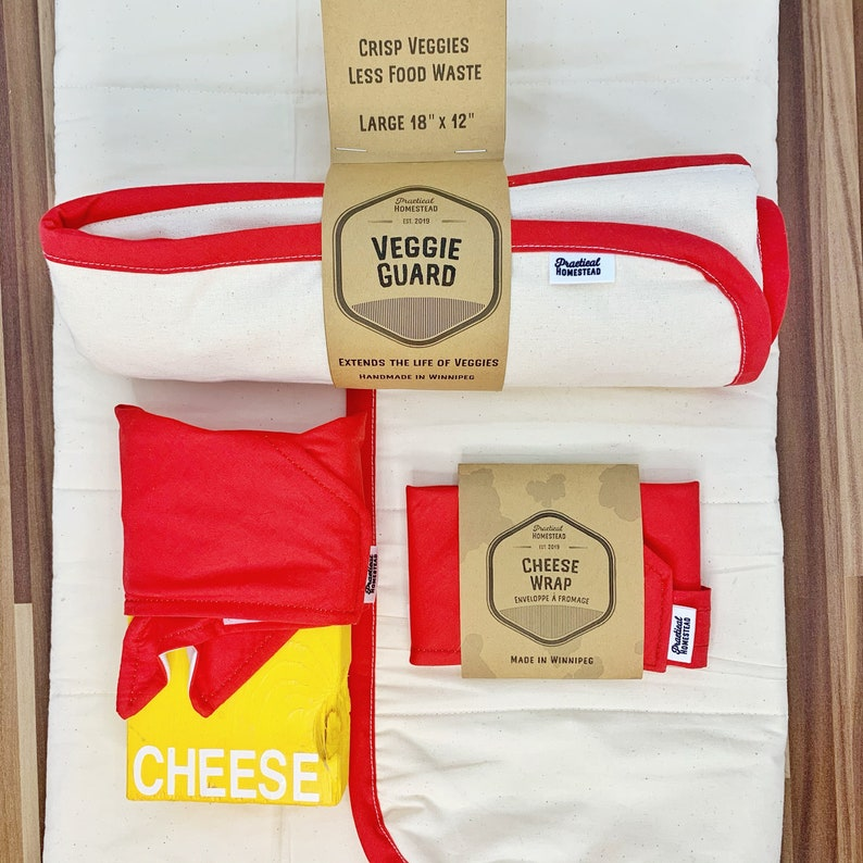 Reuseable Cheese wrap and veggie guard TOP 2 best sellers image 0