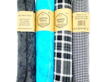 UNPAPER Towels, kitchen towels, kitchen linens, cotton cloths, paper towels, reusable cloth towels