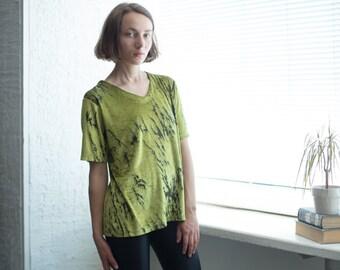 572c3ebd5254c8 Vintage 80 s Velvet Blouse In Green