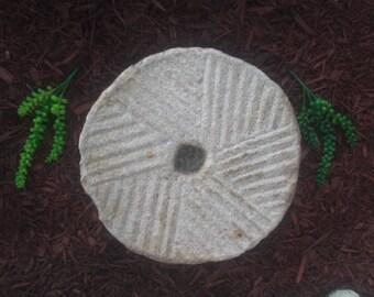 Ancient millstone Original collectible Very rare A replica stone