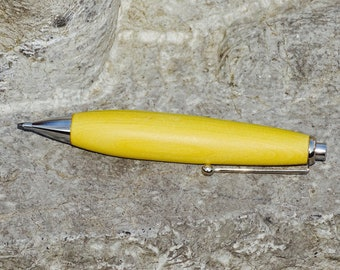 Writing instrument, mine pencil, wooden pencil, one-of-a-kind gift
