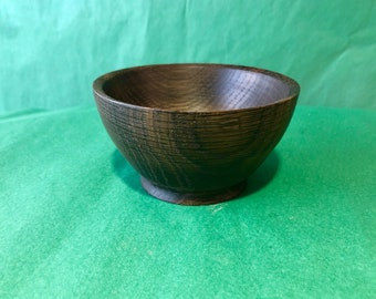 Japanese Collection: Rice bowl made of smoked oak
