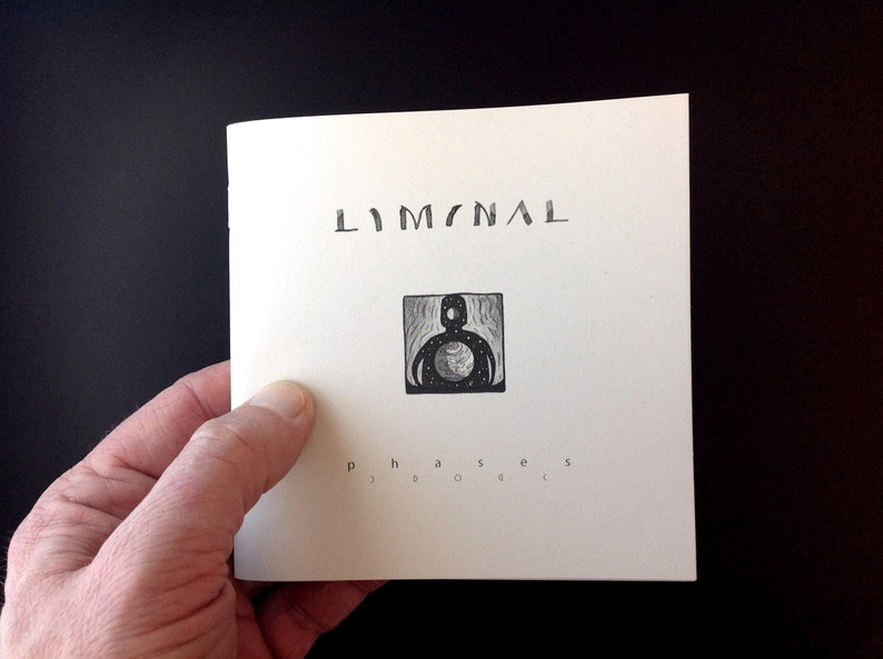 LIMINAL: 'Phases'  Artist's book signed limited image 0