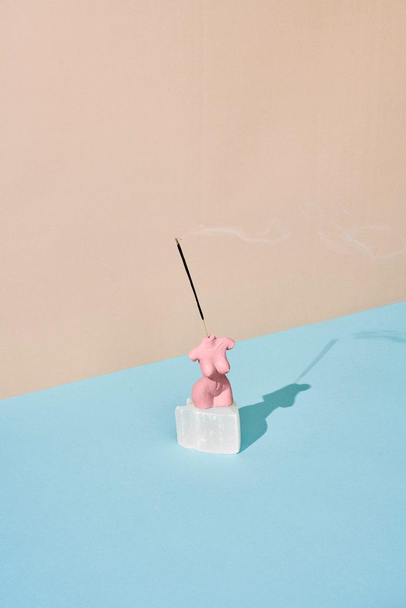 Honey Dijon Creator Collab  Pink Bodice Incense Holder image 0
