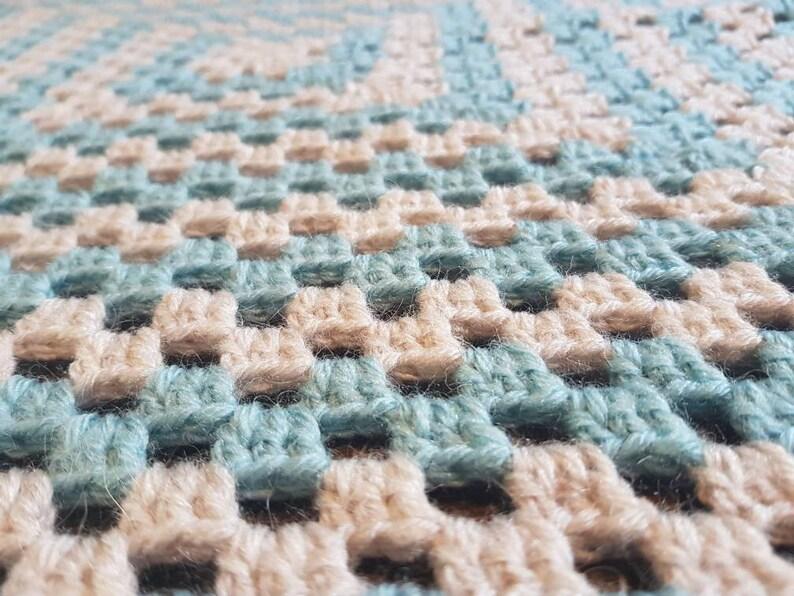 Sale Crochet Baby Blanket New Baby Gift Baby Blanket Granny Etsy