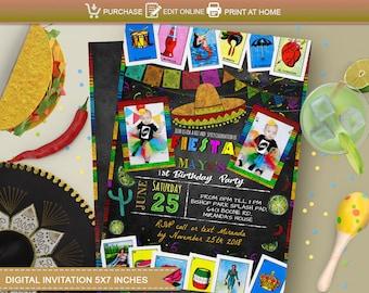 Loteria Invitations Etsy