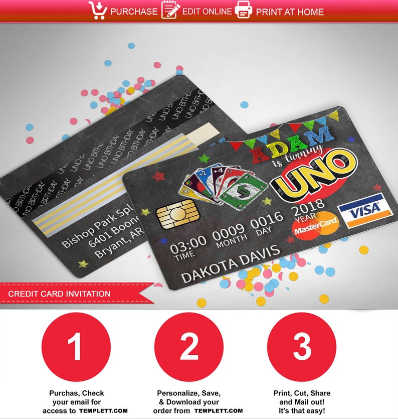 picture about Printable Uno Cards named Uno invitation,uno,uno celebration,uno birthday,wild pertaining to uno,uno card activity,to start with birthday,chalkboard,credit history card,uno credit history card,u