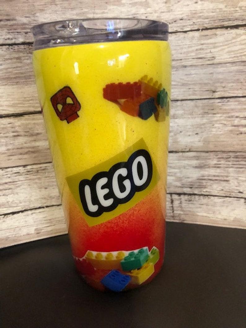 Personalized tumbler lego, Custom tumblers Lego cup Grinch glow glow tumbler kids Duke three in one Duke tumbler Grinch cup