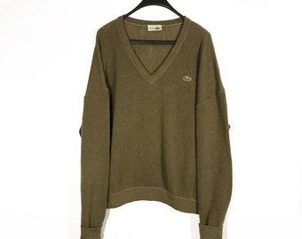 d3b2e246ddf01 Lacoste Vintage Sweater