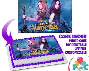 Descendants cake | Etsy