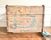 Vintage quot Canada Dry quot Wooden Crate Rustic Decor