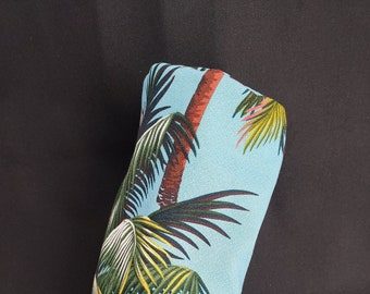 Tropical / Hawaiian / Floral Headcovers Barrel Style - Heavy Cotton Barkcloth