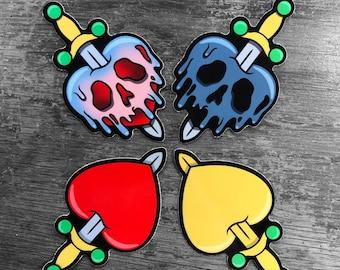 Queens Heart Sticker