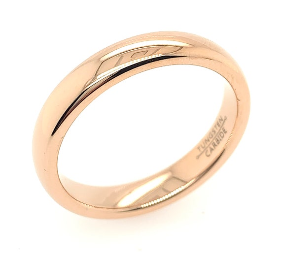 Personalized Custom Engrave Tungsten Ring FREE ENGRAVING Men/'s Tungsten Wedding Ring 4mm  Tunsgten Wedding Ring Comfort Fit