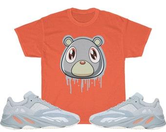 3b7dd8291b6b6d Yeezy Boost 700 Inertia Sneaker Match T-Shirt Yeezy Bear V1 Orange - Shirt  Unisex Heavy Cotton Tee