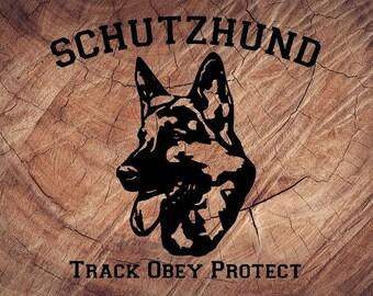 Schutzhund | Etsy