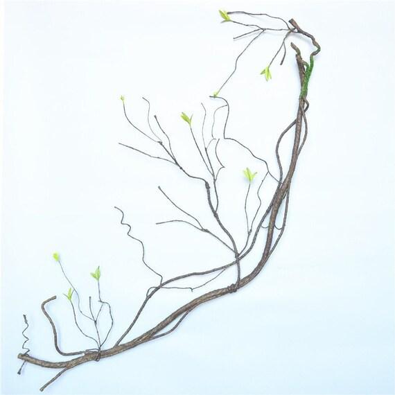 90cm fake Tree branches Rattan Kudo Artificial Flower  Künstliche Pflanzen