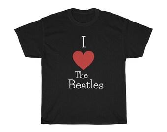 I Love the Beatles - Beatles Shirt - Beatles Tshirt